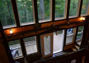 Treehouse Back Windows