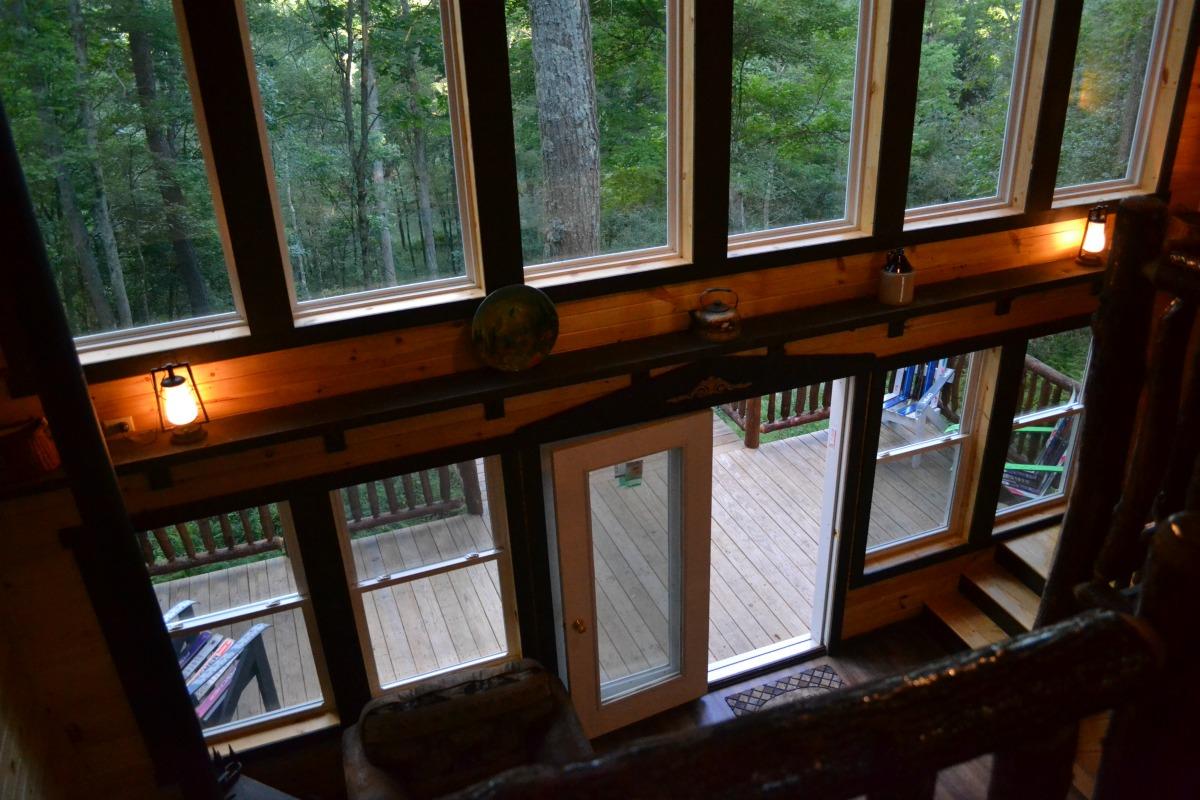Treehouse Back Windows